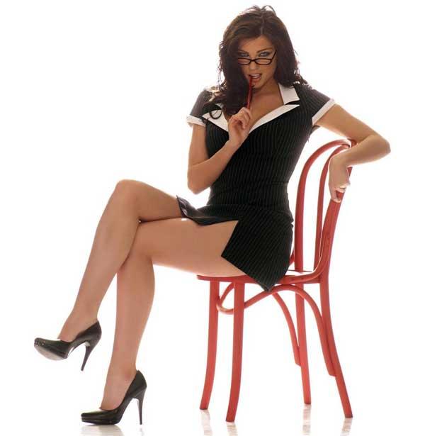 disfraz erotico secretaria